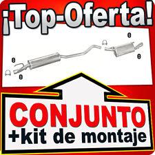 Opel Tigra 1.4 1.6 16V 66/78 KW 1994-2000 Sistema de Silenciador Escape 771