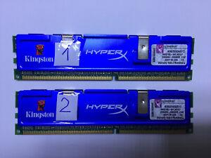 Kingston HYPERX KHX3500A/512 ( SET 2Pcs x 512 MB PC 3200 ) DDR1 1GB PC TESTED !!