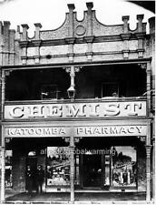 "Photo 1900s NSW Australia ""Katoomba Pharmacy"""