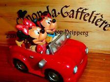 Vintage 2005 Disney Hong Kong Mickey Mouse & Minnie Beach Cruise Car Figurine