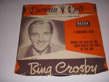 DECCA Curtain Call Series, Bing Crosby, 78 RPM DU-1504!