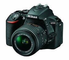 Nikon D5500 24.2MP HD Wi-Fi Digital SLR Camera & 18-55mm VR DX DLSR II Lens