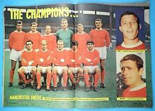 C.B. Football Monthly November 1967 - Manchester United Champions Team Picture!