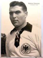 Walter Zastrau + Fußball Nationalspieler DFB + Fan Big Card Edition B492 +