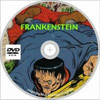 Frankenstein Comics 1-33 Issues on Dvd
