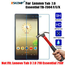Premium Tempered Glass Screen Protector For Lenovo Tab 7 Essential TB-7304 F/I/X