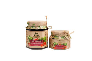 Pine cone jam with cherry 250 gr
