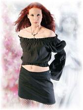 Bauchfreie Lockre Sitzende Damenblusen,-Tops & -Shirts im Blusen-Stil mit Viskose