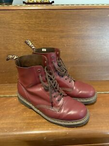 Dr Martens Heritage 1460 Oxblood 8-eye Boots Made In England