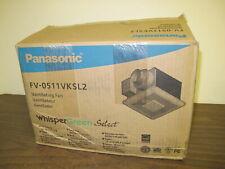 PANASONIC FV-0511VKSL2 EXHAUST FAN/LIGHT/NITE LITE,NEW IN BOX