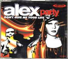 Alex Party - Don't Give Me Your Life - CDM - 1995 - House 7TR Overdance! France