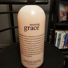 Philosophy Amazing Grace Shampoo Bath Shower Gel 64oz - Used - No pump