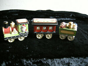 Villeroy & Boch Weihnachtslokomotive Weihnachten Lokomotive Porzellan 3 tlg.