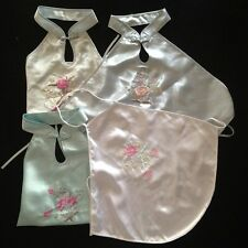 4 of Size 8-10 Embroidery Neck to Hip Apron Bellyband Sun Top Rose Peony Summer