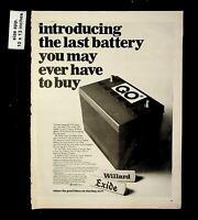 1953 PORTLAND MAINE POLICE CAR /& EXIDE Car Battery DECORATIVE REPLICA METAL SIGN