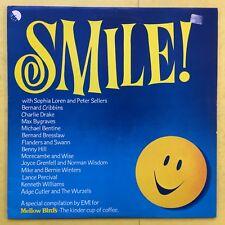 Sonríe! - suave Compilación De Pájaro-EMI Records Aves - 1 ex + condición Vinilo Lp