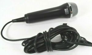 Rock Band Logitech USB Wired Microphone Black - Wii, PS3, PS2, Xbox 360, PC Nice