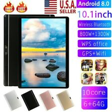 Android 8.0 Ten Core 10.1 Inch HD Game Tablet Computer PC Wifi Dual Camera GPS