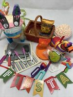 Mixed Lot American Girl And Other Brands Pinata Picnic Fiesta Celebration Cute!