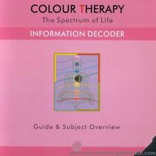 Chromotherapy - Light Therapy - Color Therapy Information Decoder Wheel