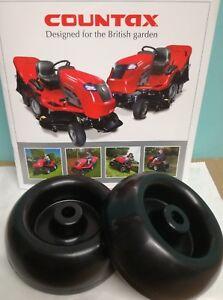 GENUINE Westwood / Countax Tractor Anti Scalp Wheel (1x pair) 149495800 FREE P&P