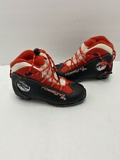 Rossignol X1 Jr Black/Red Nordic Ski Boots Size 37