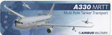 ~ AIRBUS MILITARY A330MRTT(Multi Role Tanker Transport) ~ Sticker ~ V RARE ~