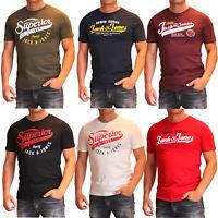 Jack and Jones Herren T-Shirt Slim Fit Rundhals Print kurz Tee Versandfrei