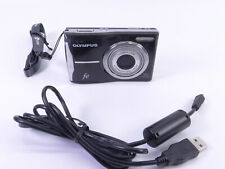 New ListingOlympus Fe Fe-46 12 Mp Megapixel Digital Camera Black Aa Batteries Point n Shoot