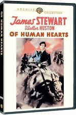 OF HUMAN HEARTS (1938 James Stewart) Region Free DVD - Sealed
