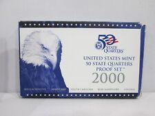 2000 US Mint Statehood Quarter Proof Set