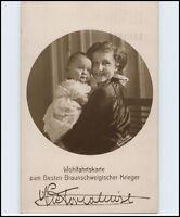Victoria Luise mit Kind Wohlfahrtskarte zum Besten Braunschweig (er) Krieger `15