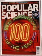 POPULAR SCIENCE  Magazine BEST 100 INNOVATIONS of the 2013 The FUTURE NOW