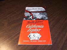 FEBRUARY 1964 WESTERN PACIFIC CALIFORNIA ZEPHYR ROUTE GUIDE