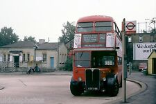 London Transport RT2327 Mill Hill East Station 12th July 1978 Bus Photo