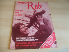 Spare Rib Women's Liberation Feminist Magazine Number 47 June 1976