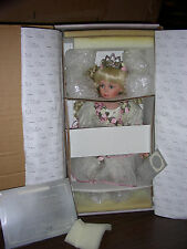 "Vintage Donna Rubert Sitting Princess ""Brooke"" Doll 18""  NEW IN BOX"