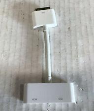 Genuine OEM Apple Digital AV Adapter 30 Pin - HDMI A1388 AV CORD for iPad iPhone