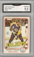 1981-82 O-Pee-Chee #123 Garry Unger | Graded NM/MT +