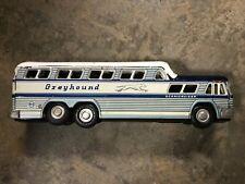 Vintage Greyhound Express Scenicruiser Bus Tin Toy KTS Japan