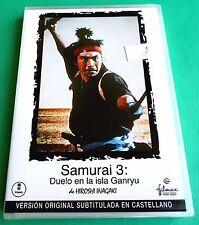 SAMURAI 3 DUELO EN LA ISLA GANRYU / Miyamoto Musashi kanketsuhen -V.O.S.-Precint
