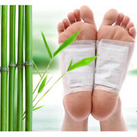 10x Kinoki Detox Foot Patches 10 Pads Body Toxins Feet Slimming Cleansing Herbal