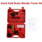 Hand Held Brake Bleeder Kit Vacuum Pump Tester Set Gauge Wadapter Car Motorbike