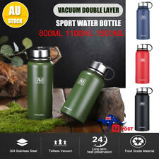 Stainless Steel Double-Wall Vacuum Water Bottle Insulated Sport Gym Bottles BPA