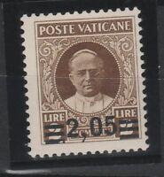 FRANCOBOLLI - 1934 VATICANO PROVVISORIA L. 2,05 MNH Z/7751