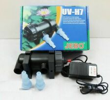 UV Sterilizer Lamp Light Filter Water Cleaner Aquarium Pond Coral Koi Fish Tank
