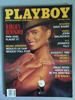 Vintage Playboy May 1990 Margaux Hemingway Pictorial Magazine Original