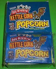 ASS KICKIN' KETTLE CORN MICROWAVE POPCORN- 12 PACK OF 3.5 OZ. BAGS-RETAIL $23.40