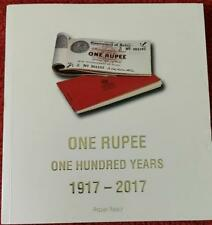 One Rupee One Hundred Years 1917-2017 by  Rezwan Razack limited-collectors