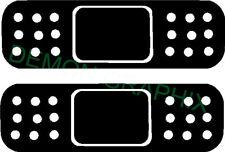 Band Aid vinyl decal/sticker truck car window laptop Bandage set/2 2x6.5 jdm ill